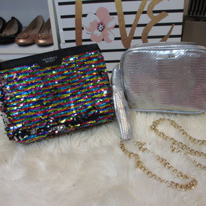 NEW! Victoria's Secret Bag and Pouch